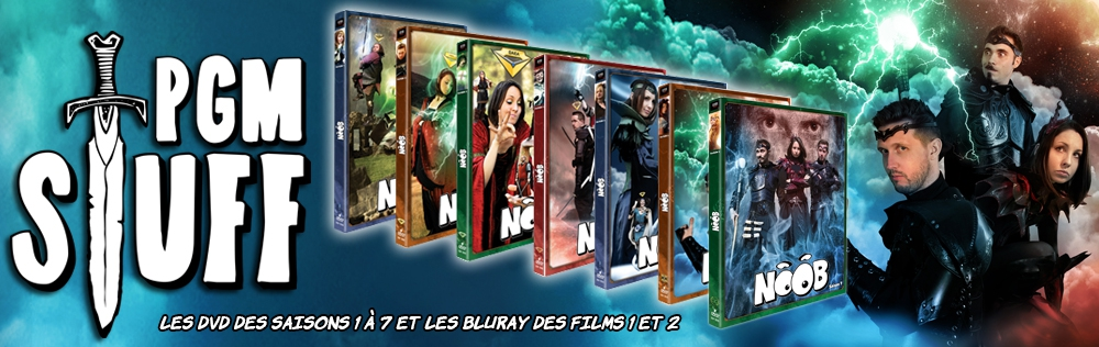 Saisons NOOB DVD / BD